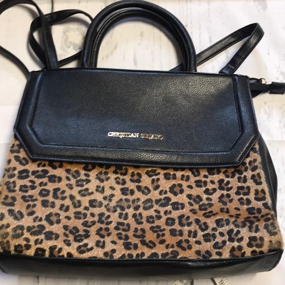eb6e1108f3c6 Black and Cheetah purse